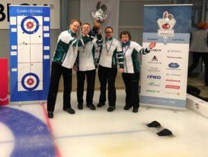 Sipilän joukkueelle mixedin Suomen mestaruus